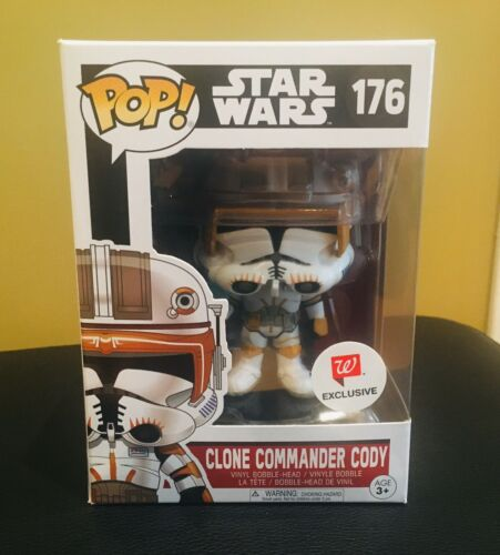 Funko Pop Star Wars Clone Commander Cody #176 Walgreens Exclusive Mint Rare OOP