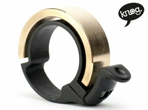 Knog Oi Bell Brass Large 23.8-31.8 mm