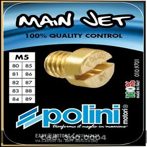 dal 80 al 89 I 3600004 Kit da 10 Getti POLINI  M.5  cod