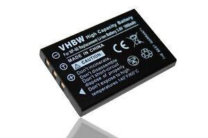 Cámara original VHBW ® batería para Kodak EasyShare ls633 ls420 ls443 ls743 ls753