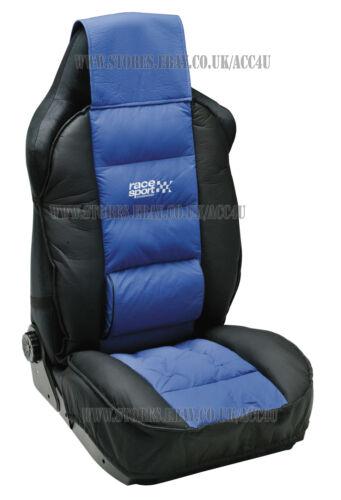 Rennsport Blau Schwarz Luxus Gepolstert Lendenwirbelstütze Einzel Sitz