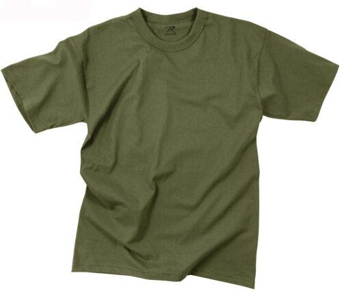 Kids Military OD Boys T-shirt Olive Drab Green Tee Shirt Rothco 6709