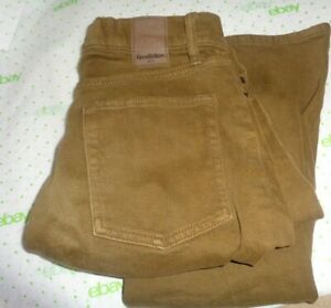 62-Goodfellow-mens-jeans-bronze-brown-wash-32-29-straight-leg-athletic-flex
