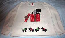 Scottie Dog Christmas Sweater Blingy Cute - Size: XXL/XXG (20) - New without Tag