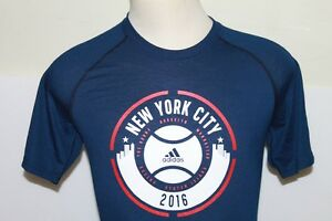 NWT-ADIDAS-PERFORMANCE-ULTIMATE-SS-NEW-YORK-2016-MEN-039-S-TEE-T-SHIRT-SIZE-S-M-L-XL