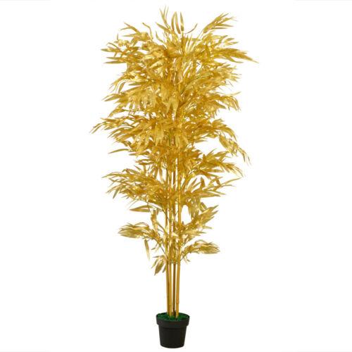 Bambus Kunstpflanze Künstliche Pflanze 190cm Decovego