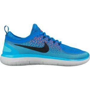 d40d50a40c40 Nike Men s Free RN Distance 2 - Soar Black Hot Punch Polarized Blue ...