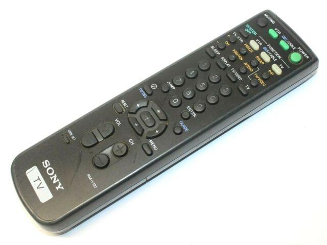 Original OEM Sony TV Remote Rm-y137 RMY137