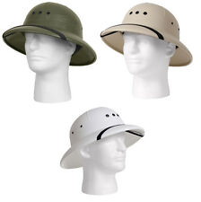 2be22e727b694 item 4 Olive Drab Khaki White Vietnam Military Style Lightweight Safari  Pith Helmet Hat -Olive Drab Khaki White Vietnam Military Style Lightweight  Safari ...
