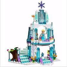 Frozen Elsa Eis Burg Bausteine  Anna Olaf  Eispalast Schloss Palast  ice castle