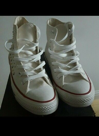 Womens Studded Hi Converse  Cheap and fashionable