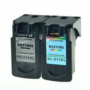 Image Is Loading 2PK PG 210 CL 211 Ink Cartridge Combo