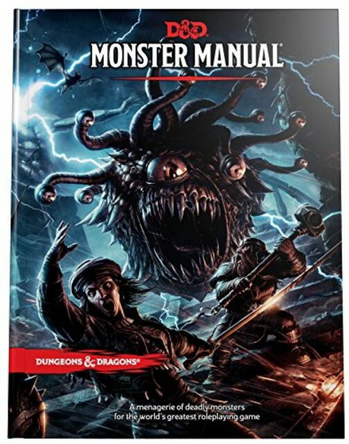352 Pages Monster Manual D And D Dungeons And Dragons Core Rulebook Hardcover