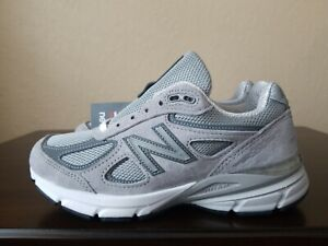 promo code 9a240 42a74 Details about 🔥New Balance 990v4 Running Shoes Made In The USA Grey  W990GL4 Women's Sz. 5.5 D