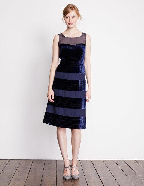 BODEN BNIB Natasha Special Occasion Dress - Navy - UK 8 L | Moderater Preis  | Genial Und Praktisch  | Angenehmes Gefühl