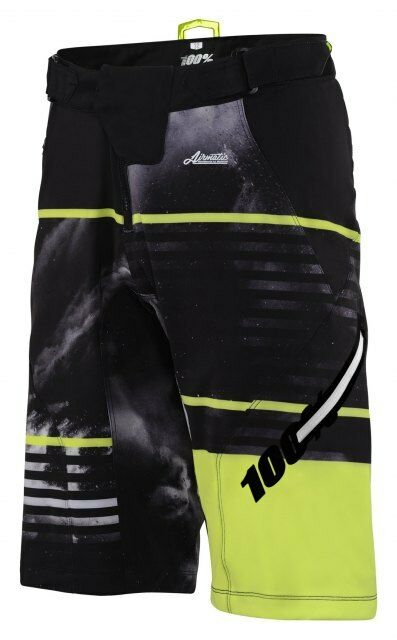 100%  Airmatic Dusted Shorts - Mountain Bike Baggy MTB Trail Enduro  free shipping on all orders