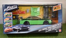 MATTEL VEHICLE KIT FAST & FURIOUS ZO11 DODGE CHALLENGER SRT8 3 IN 1