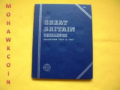 NEW WHITMAN FOLDER #9679 GREAT BRITAIN HALFPENNY 1902-1936