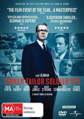 1 of 1 - TINKER TAILOR SOLDIER SPY (DVD, 2012) VGC - GARY OLDMAN, COLIN FIRTH, TOM HARDY