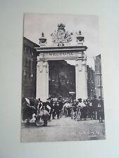 G187 Vintage Postcard The Royal Visit Triumphal Arch City Square, Leeds Unposted