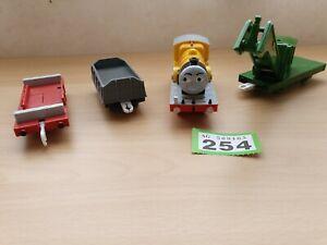Tomy-Thomas-Rolling-Stock-Trucks-Engine-Flatbed-Crane-Gullane-job-Lot