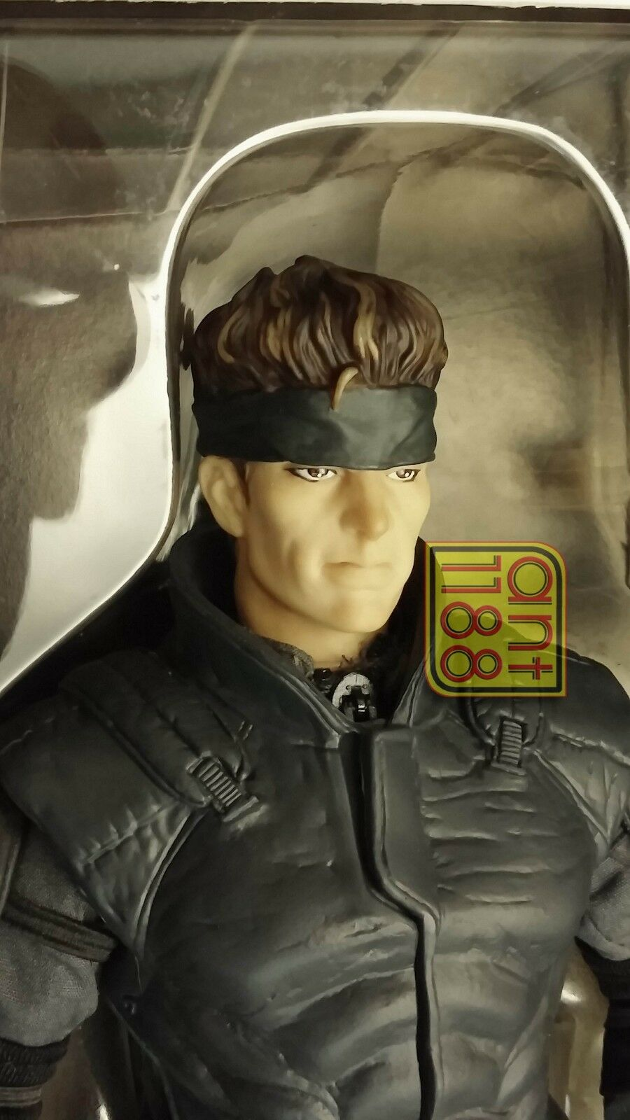 KONAMI 1 6 ACTION FIGURE METAL GEAR SOLID BAMBOLA 30 CM SOLID SNAKE DOLL Rare