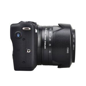 Bayonet-ABS-Petal-Compact-Hard-Lens-Hood-Camera-Reduce-Reflection-DSLR-Photos