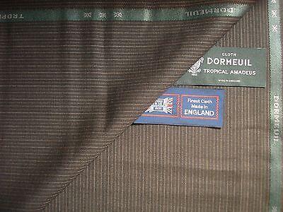 Dormeuil /'amaadeus 365 jacketing/' Tejido De Lana De Lujo hecho En Inglaterra 2.0 M