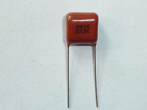 5x Polypropylen Folienkondensator 0,68µF 400V CBB22 680nF Film Kondensator 684J