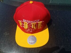 82217bb552f Image is loading Washington-RedSkins-NFL-Mitchell-amp-Ness-Team-Arch-