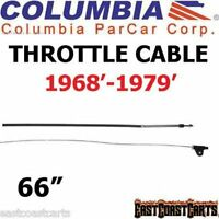 Columbia Par Car-harley Davidson 1968'-1979' Golf Cart Throttle Cable 40528-68