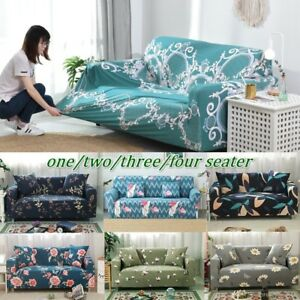 Brilliant Details About Leaf Pattern Sofa Couch Cover Throw Sofa Protector Cover Slipcover Home Decor Andrewgaddart Wooden Chair Designs For Living Room Andrewgaddartcom