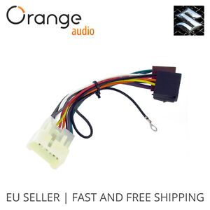 wiring harness adapter for suzuki alto 1996 iso stereo plug adaptor rh ebay com wiring harness adapter for car stereo wiring harness adapters for 2006 jeep liberty
