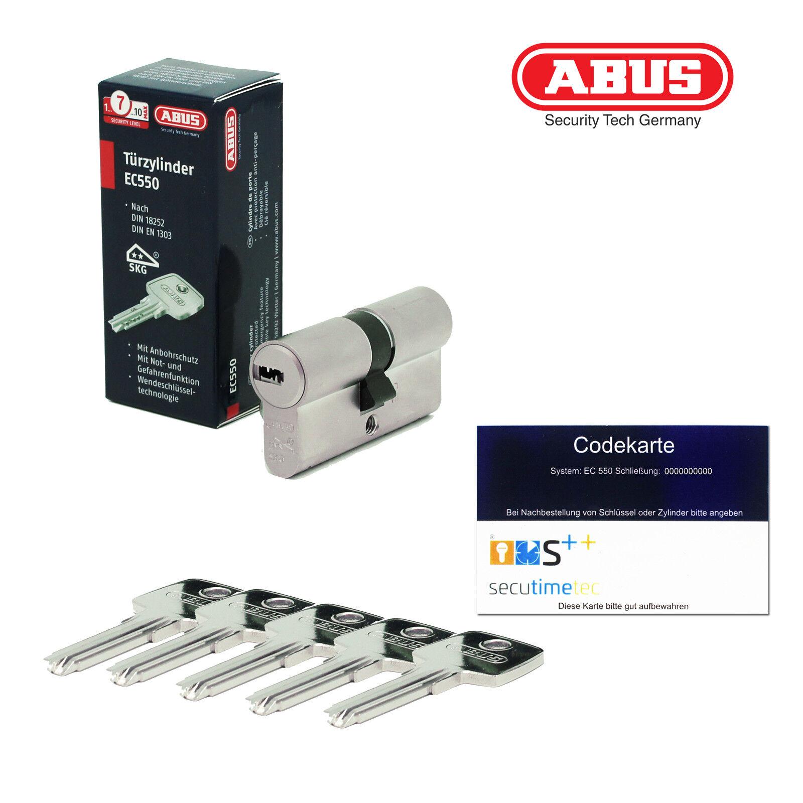 ABUS EC550 Profilzylinder gleichschließend Schließanlage 5 Schlüssel Codekarte  | eine große Vielfalt  | Helle Farben  | Internationale Wahl  | Neue Produkte im Jahr 2019