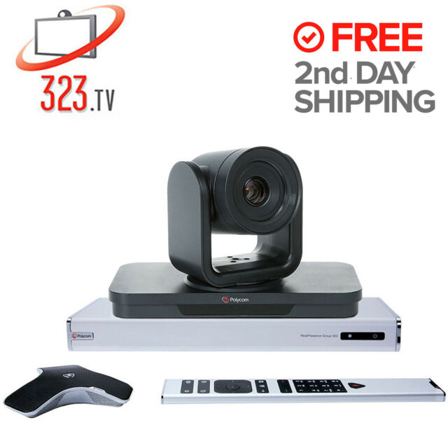 Polycom Group 500 Fully Loaded 1080p, MultiPoint & Skype Options 7200-64510-001