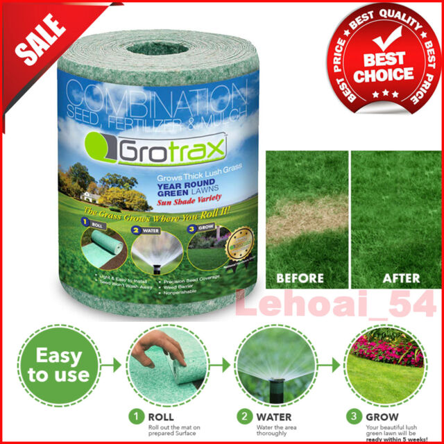 Roll Out Grass Repair Patch Kit For Sale Online Ebay