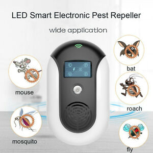 loskii led ultrasonic pest repeller sound waves mice mosquito insect rh ebay com