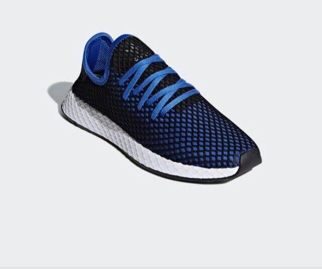 Men Adidas Originals Deerupt Runner Athletic Casual  shoe bluee-Black B41764