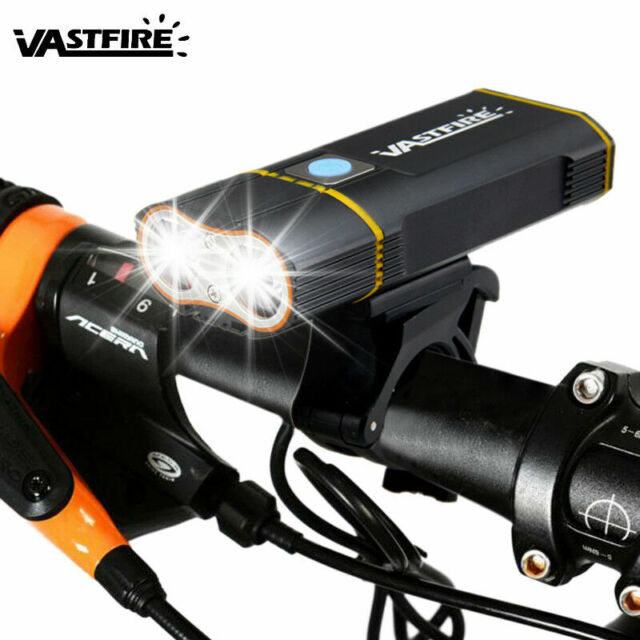 2000LM XM-L T6 Bike BIcycle Cycling Front Head Lights Lamp Rechargeable Mounts