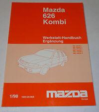 Werkstatthandbuch Mazda 626 Kombi Typ GW / GF Getriebe Karosserie, St.01/1998