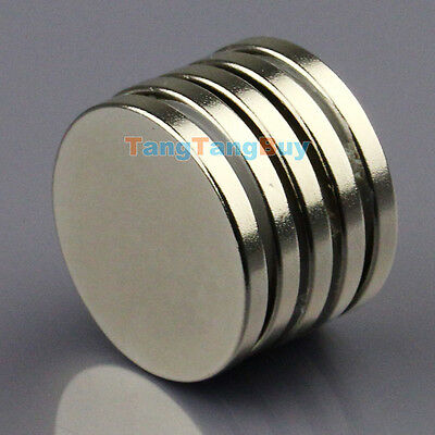 5pcs N50 Super Strong Disc Cylinder Round Magnets 25 x 3mm Rare Earth Neodymium