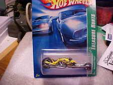 2007 Hot Wheels Treasure Hunt #6 Hammer Sled Treasure Hunts Card