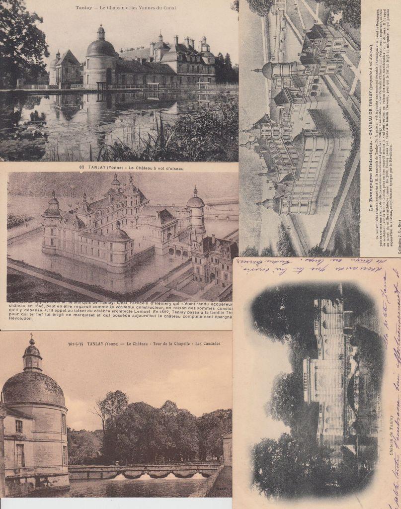 Le Constructeur De Bourgogne tanlay yonne (dep.89) bourgogne 33 postcards pre-1940 | ebay