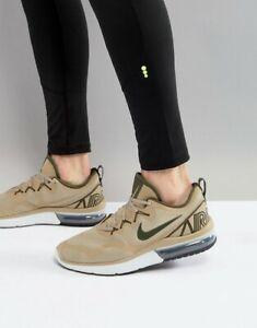 eadf3b72aec6 Nike Air Max Fury Khaki Green Off White Men s Trainers Shoes UK 7 8 ...