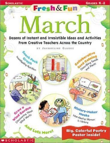 March, Grades K-2 (Fresh & Fun) by Krech, Bob