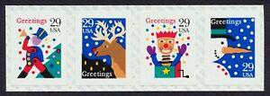 #2799b 29c Navidad: Tarjetas, Bobina Franja, Nuevo Cualquier 5=
