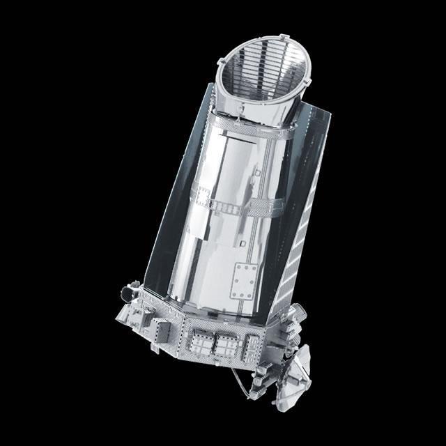 Metal Earth Kepler Spacecraft DIY laser cut 3D steel model kit