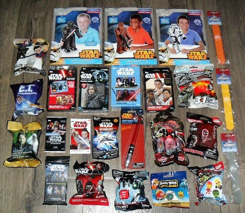 BLIND BAGS TOYS BULK LOT OF 25 DIFFERENT ITEMS U RECEIVE EVERYTHING PICTURED  E