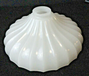 Vintage-Antique-Milk-White-Glass-Gas-Lantern-Lamp-Light-Globe-Shade-Replacement