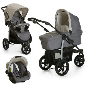 hauck kinderwagen set viper slx trio 3 in 1 inkl. Black Bedroom Furniture Sets. Home Design Ideas